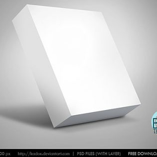 Box Template PSD