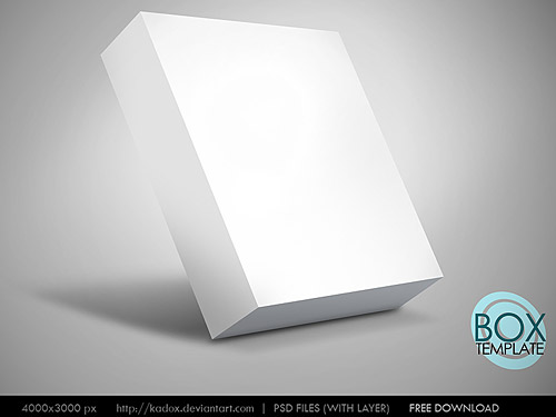 Box Template Psd Download Psd