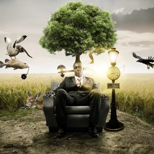 Brainstorming Photo Manipulation Free PSD