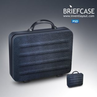 Briefcase Icon Free PSD