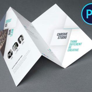 Business Catalog Brochure Design Template PSD