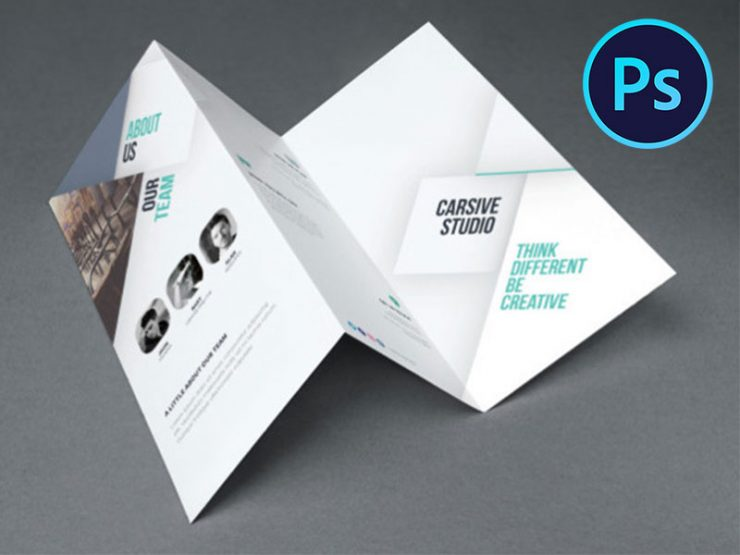 Business Catalog Brochure Design Template PSD