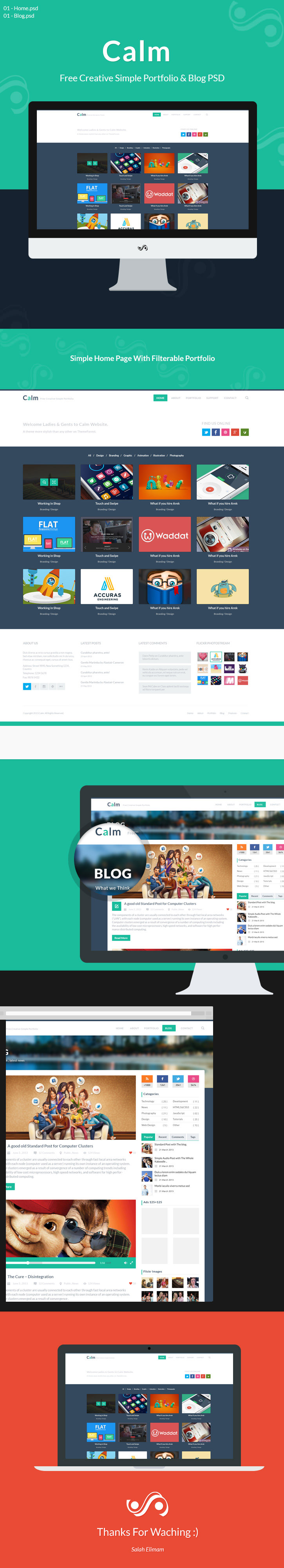 Calm Free Creative Simple Portfolio & Blog PSD www, windows 8 psd, Website Template, Website Layout, Website, webpage, Web Template, Web Resources, web page, Web Layout, Web Interface, Web Elements, Web Design, Web, Video Player, User Interface, unique, UI elements, UI, Template, Stylish, Simple, Resources, Quality, Psd Templates, PSD Sources, psd resources, PSD images, psd free download, psd free, PSD file, psd download, PSD, Portfolio Website, Portfolio, Photoshop, original, organized, new, Modern, Layered PSDs, Layered PSD, Interface, Homepage, hi-res, HD, Graphics, Fresh, Freebies, Free Resources, Free PSD, free download, Free, flat website, Flat Design, Flat, Elements, download psd, download free psd, Download, detailed, Design, Creative, Clean, blog page, Blog, Adobe Photoshop,