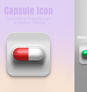 Capsule Icon Free PSD Web Resources, Web Elements, unique, Stylish, Resources, Quality, PSD Icons, pack, original, new, Modern, Medicine, Med, Icons, Icon PSD, Icon, hi-res, HD, Glossy, Fresh, Free Icons, Free Icon, Elements, detailed, Design, Creative, Clean, Capsule, 3D,