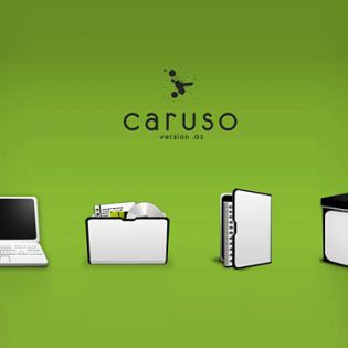 Caruso Icon PSDs