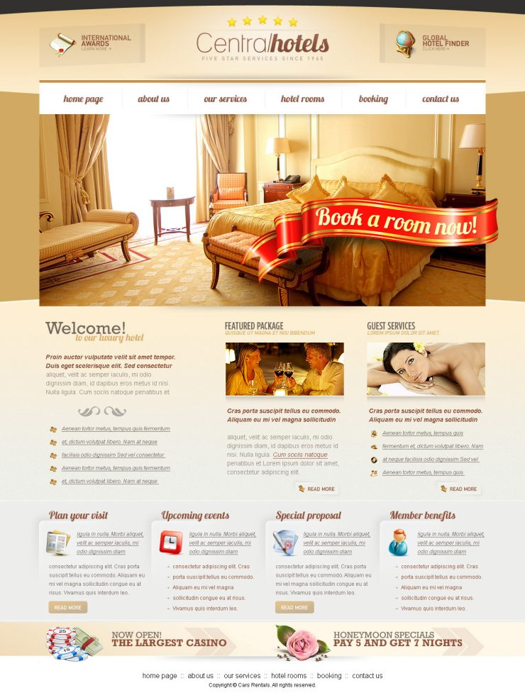 Central Hotels PSD Website Template www, Website Template, Website Layout, Website, Web Template, Web Resources, Web Layout, Web Interface, Web Elements, Web Design, Web, User Interface, UI, Template, Resources, resort, Psd Templates, Hotel, Holiday, Elements,