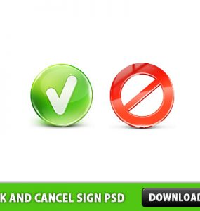Check and Cancel Sign Free PSD Wrong, Sign, Right, Psd Templates, PSD Sources, psd resources, PSD images, psd free download, psd free, PSD file, psd download, PSD, Layered PSDs, Icon PSD, Icon, Glossy Icons, Glossy, Free PSD, Free Icons, Free Icon, download psd, download free psd, Check, Cancel,