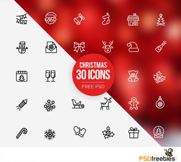 30 Christmas icons set Free PSD Year, Xmas, wreath, Web Resources, Web Elements, unique, Symbol, Stylish, socks, sock, Snowman, Snow, sleigh, scarf, Santa, sack, Resources, Quality, Psd Templates, PSD Sources, psd resources, PSD images, PSD Icons, psd free download, psd free, PSD file, psd download, PSD, Present, Photoshop, pack, original, new, nativity, Modern, mittens, mistletoe, merry, line icon, Layered PSDs, Layered PSD, knot, Icons Set, Icons, Icon PSD, Icon, Holidays, Holiday, Happy, greeting, Graphics, glove, Gift, Fresh, freepsd, Freebies, Freebie, Free Resources, Free PSD, Free Icons, Free Icon, free download, Free, Elements, download psd, download free psd, Download, detailed, Design, deer, Decoration, Creative, Clean, Christmas, Celebration, Candy, candle, bell, Adobe Photoshop,