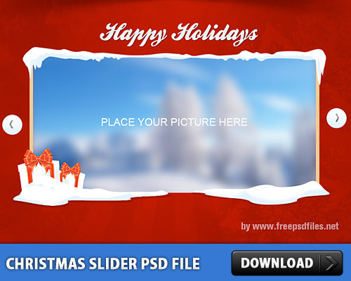 Christmas Image Slider Free PSD File winter slider, Winter, Web Sliders, Web Slider, Web Resources, Web Elements, User Interface, Snow, Sliders, slider design, slider carousel, Slider, Slide Show, Season Holidays, Resources, Psd Templates, PSD Sources, psd slider, psd resources, PSD images, psd free download, psd free, PSD file, psd download, PSD, Nature, Layered PSDs, Image slider, Ice, Holidays, holiday 2013, Holiday, GUI, Graphics, Graphical User Interface, Gallery, Free PSD, Elements, download psd, download free psd, Content Sliders, christmas slider PSD template, christmas slider, Christmas,
