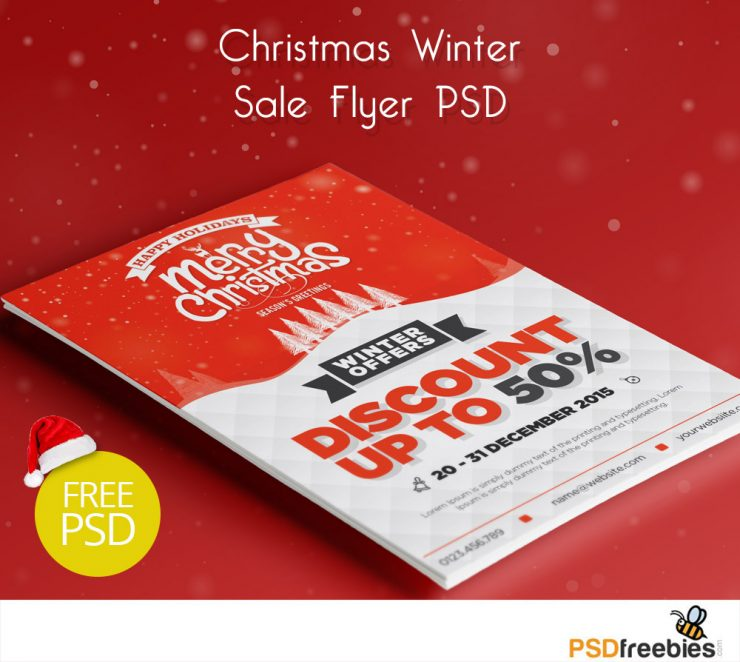 Christmas Winter Sale Flyer PSD Freebie Year, Xmas, Winter, White, unique, Template, Stylish, snow flakes, Snow, season, Santa, Sale, Resources, Red, Quality, Psd Templates, PSD Sources, psd resources, PSD images, psd free download, psd free, PSD file, psd download, PSD, Promotion, promo, Print, Premium, Poster, Photoshop, party flyer, Party, pack, original, offer, NYE party, nye, nightlife, nightclub, night party, New Year's Eve, New Year, new, Music, Modern, merry, luxurious, long, Layered PSDs, Layered PSD, invitation, Holiday, Hat, Happy, greeting, Green, Graphics, gifts, Gift, Fresh, Freebies, Freebie, Free Resources, Free PSD, free download, Free, Frame, Flyer, festive, Exclusive, Event, elegant, download psd, download free psd, Download, Discount, detailed, Design, deluxe, Decoration, decor, december, Creative, Clean, christmas flyer, Christmas, Celebration, Card, Business Card, Border, Blue, bash, Banner, Adobe Photoshop,