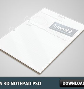 Clean 3D Notepad PSD Stationary, School, Psd Templates, PSD Sources, psd resources, PSD images, psd free download, psd free, PSD file, psd download, PSD, Paper, Objects, Notepad Icon, Notepad, NoteBook Icon, NoteBook, Layered PSDs, Icons, Icon PSD, Free PSD, Free Icons, Free Icon, download psd, download free psd, Book,