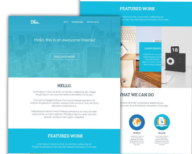 Clean Corporate Blue Single Page Template PSD www Website Template Website Layout Website webpage Web Template Web Resources web page Web Layout Web Interface Web Design Web User Interface unique UI Template Stylish Single Page Services Resources Quality Psd Templates pack original one page official new Modern landingpage Fresh Freebie Free PSD Free Download detailed Design Creative Corporate Clean Blue