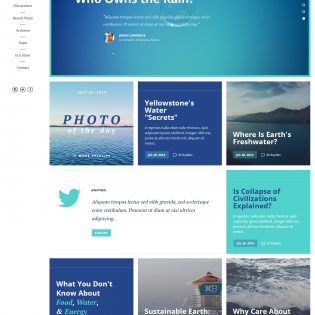 Clean Corporate Website Template