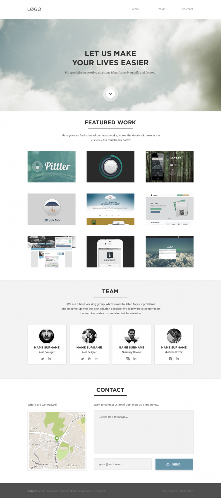 Clean White Portfolio Website Template PSD www, Work, White, Website Template, Website Layout, Website, webpage, Web Template, Web Resources, web page, Web Layout, Web Interface, Web Elements, Web Design, Web, User Interface, unique, UI, Template, Stylish, smiple, Resources, Quality, Psd Templates, Portfolio, pack, original, new, HD, Fresh, flat psd template, flat psd, Flat Design, Flat, Featured, Elements, detailed, Design, Creative, Corporate, Contact, Clean,