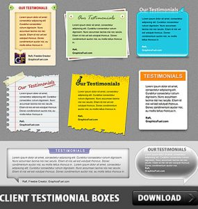 Client Testimonial Boxes Free PSD Web Resources, Web Elements, Testimonial, Speech Blurb, Speech, Resources, Quote, Psd Templates, PSD Sources, psd resources, PSD images, psd free download, psd free, PSD file, psd download, PSD, Layered PSDs, Graphics, Free PSD, Elements, download psd, download free psd,