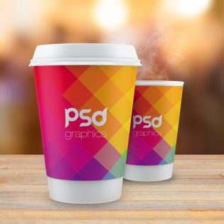 Coffee Cup Mockup Free PSD Graphics