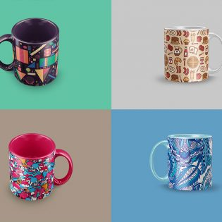 Coffee Mug Mockup PSD Free Download