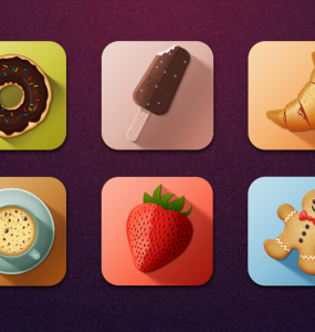 Colorful Long Shadow Tasty Food Icons PSD Web Resources, Web Elements, unique, tasty, Stylish, strawberry, Shadow, Resources, Quality, PSD Icons, PSD file, PSD, Photoshop, pack, original, new, Modern, long shadow, Layered PSD, Icons, Icon PSD, Icon, icecream, ice cream, hi-res, HD, Graphics, Fresh, Freebies, Free Resources, Free PSD, Free Icons, Free Icon, free download, Free, filmstrip, Elements, Download, donut, detailed, Design, Cup, Creative, Cookies, Colorful, Coffee, Clean, 3D,