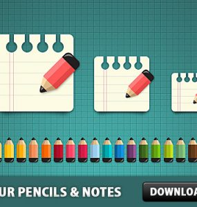 Coloured Pencils with Notes Icon PSD School Psd Templates PSD Sources psd resources PSD images psd free download psd free PSD file psd download PSD Paper Pancil Notes Note Layered PSDs Icons Icon PSD Icon Free PSD Free Icons Free Icon Education download psd download free psd Colour Colorful Color Pencil Color
