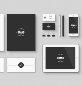 Corporate Brand identity Free Mockup PSD Kit