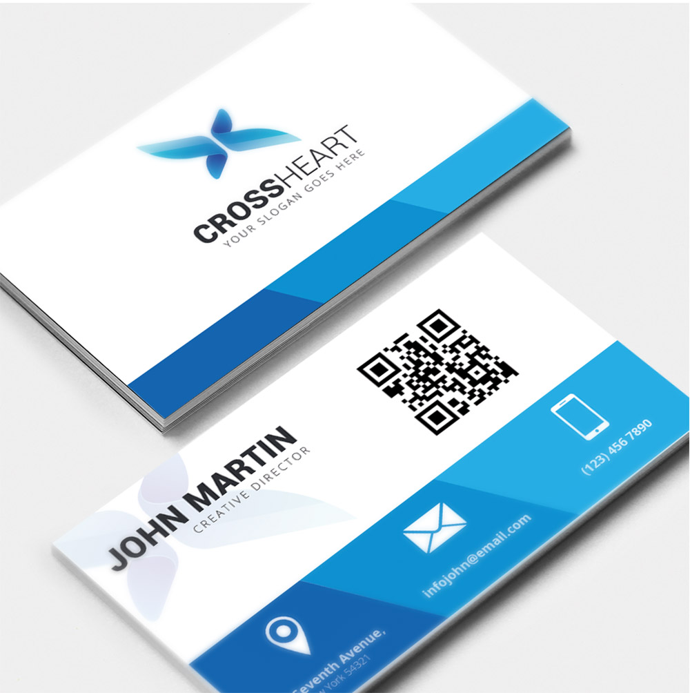 Corporate business card free psd download download psd graphics reheart Image collections