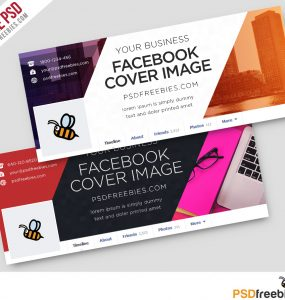 Corporate Facebook Covers Free PSD Template