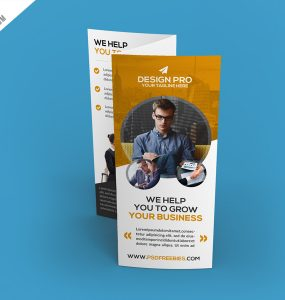 Download Free Company Profile PSD Download PSD - Basic brochure template