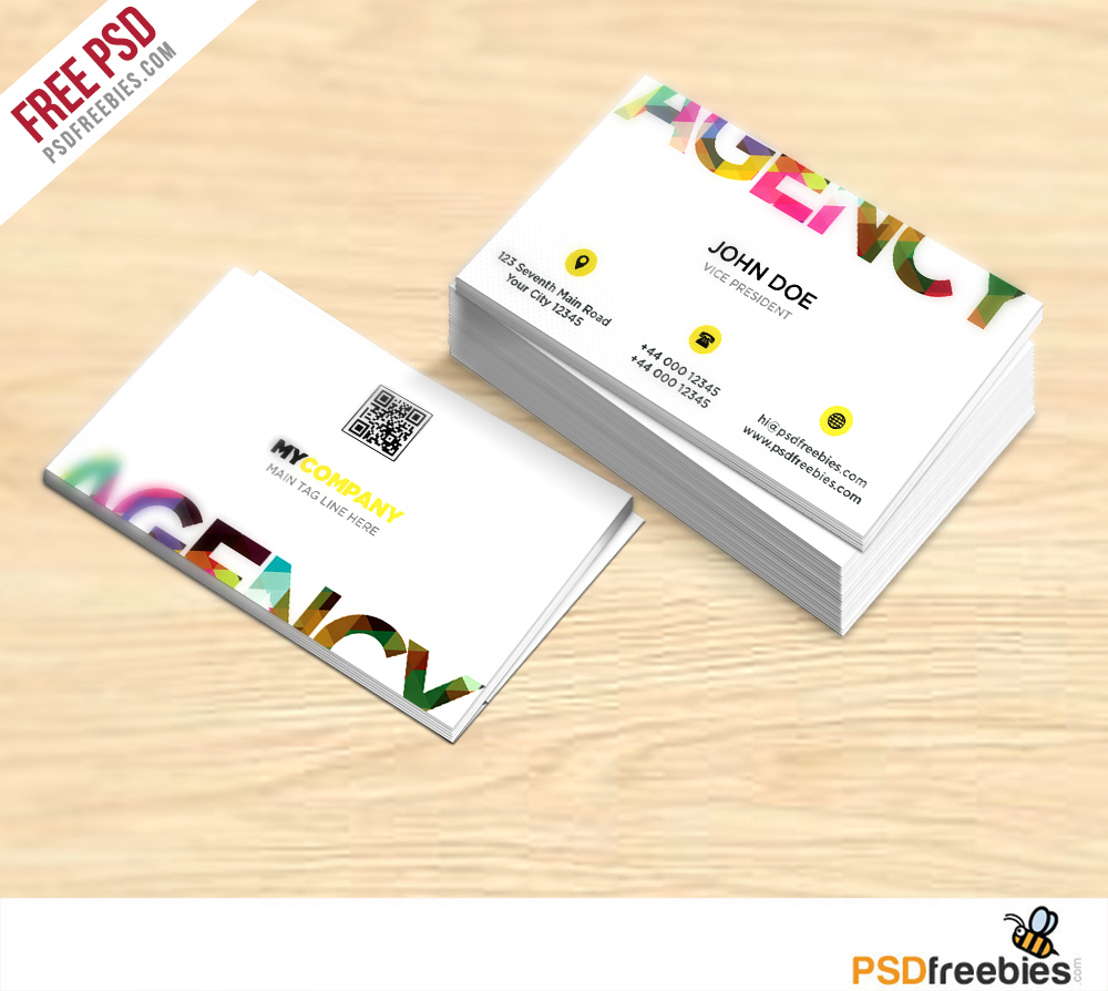 Creative business card free psd template download download psd creative business card free psd template colourmoves
