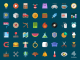 Creative Cartoon Style Flat Icons PSD Set Web Resources Web Elements Vinyl unique UI elements UI Stylish Resources Quality PSD Icons pack original new Modern light bulb Icons Icon Set Icon PSD Icon Fresh Free Icons Free Icon free download Free Elements detailed Design Creative controller Colorful clown Clean Cartoon cake bow and arrow
