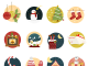 Creative Christmas Icons Set Freebie PSD Web Resources Web Icons Web Elements Vector Simple set Santa Sale Resources Quality PSD Sources psd kit PSD Icons psd free PSD New Year Layered PSDs Icons Set Icons Icon PSD Icon Holiday Gift Freebie Free PSD Free Icons Free Icon Free Flat Fastival Elements Creative Colorful Clean Christmas Candy