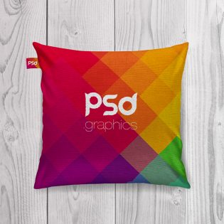Cushion Mockup Free PSD Graphics