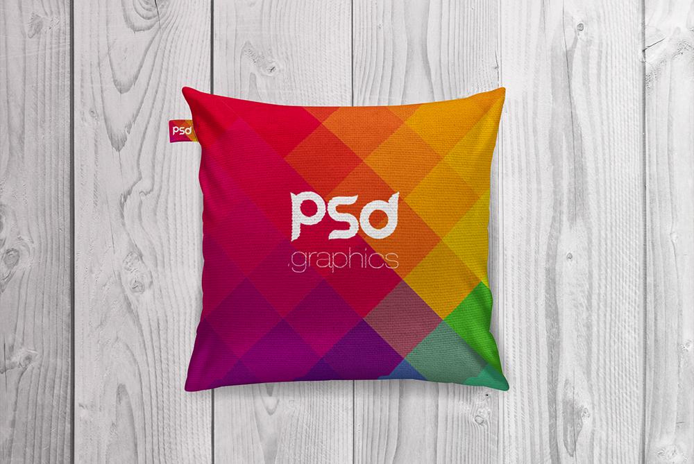 Cushion Mockup Free PSD Graphics