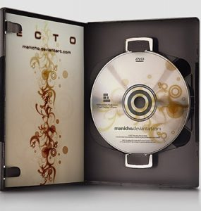 DVD Case - PSD File PSD, Layered PSDs, DVD Case, DVD,