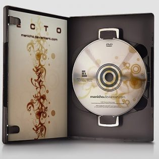 DVD Case - PSD File