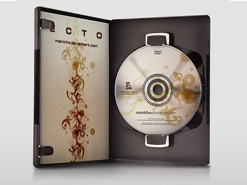 DVD Case – PSD File