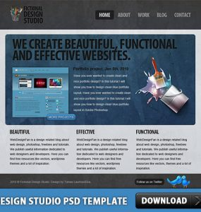 Design Studio Free PSD Template www Website Layout Website Web Resources Web Design Template Psd Templates PSD template PSD Sources psd resources PSD images psd free download psd free PSD file psd download PSD Modern Web Design Modern Layered PSDs Free Template Free PSD download psd download free psd Design Studio