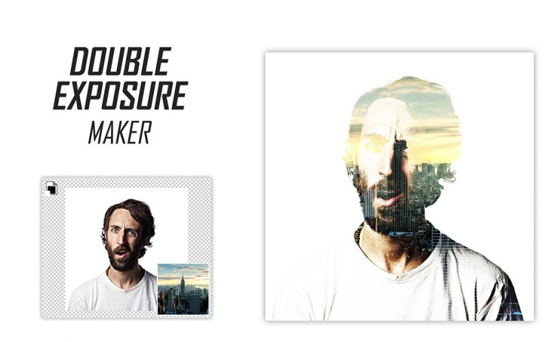 Double Exposure Effect Maker PSD Freebie trick, Style, Resource, PSD Sources, psd resources, PSD images, psd free download, psd free, PSD file, psd download, PSD, portrait, Picture, Photography, photo style, Photo Manipulation, Photo, merge, maker, generator, Freebie, Free PSD, Free, Exposure, Effect, Editable, edit, download psd, download free psd, Download, double exposure, Customizable, creativity, Creative, composite, compose, B/W, amazing,