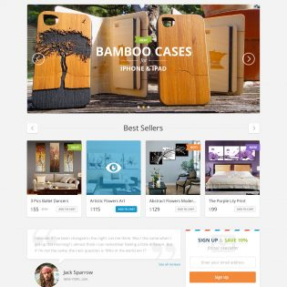 E-Commerce UI Pack Free PSD Template