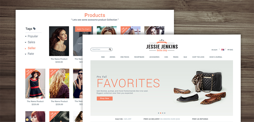 E commerce website template design psd freebie download psd for E commerce sites templates