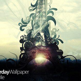 Eiffel Tower – Creative Poster