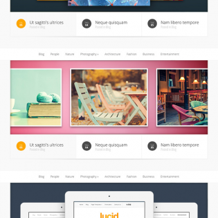 Eight Awesome Web Slider Templates PSD