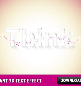 Elegant 3D Text Effect in Photoshop Text Effect Text Psd Templates PSD Sources psd resources PSD images psd free download psd free PSD file psd download PSD Objects Layered PSDs Glass Free PSD download psd download free psd 3D