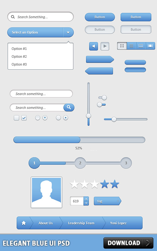 Elegant Blue UI Free PSD www, Web Resources, Web Elements, Web, User Profile, User Interface, User, Search, Scrollbar, Scroll Bar, Scroll, Resources, Psd Templates, PSD Sources, PSD Set, psd resources, PSD images, psd free download, psd free, PSD file, psd download, PSD, Layered PSDs, Icon PSD, GUI, Graphical User Interface, Free PSD, Free Icons, Free Icon, Form, Elements, download psd, download free psd, Contact Form, Check Boxes, Buttons,