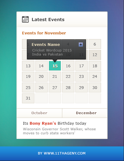 Event Calender Widget Free PSD widget, Web Resources, Web Elements, Web Design Elements, Web, UX, User Interface, ui set, ui kit, UI elements, UI, Resources, PSD, Interface, GUI Set, GUI kit, GUI, Graphical User Interface, Freebie, Free PSD, Event, Elements, Download, Design Resources, Design Elements, Calendar,