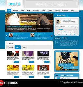 FM Blog Free PSD Template www, widget, Website Template, Website Layout, Website, Web Template, Web Resources, Web Layout, Web Interface, Web Elements, Web Design, Web, User Interface, UI, Template, Resources, radio station, Radio, Psd Templates, PSD Sources, psd resources, PSD images, psd free download, psd free, PSD file, psd download, PSD, Photoshop, Music, Layered PSDs, Layered PSD, Graphics, Freebies, Free Resources, Free PSD, free download, Free, FM, Elements, download psd, download free psd, Download, Blog Layout, Blog, Adobe Photoshop,