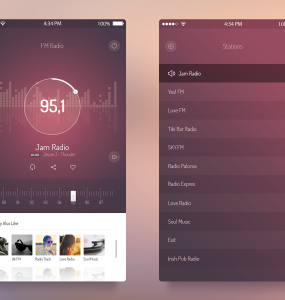 FM Radio UI iOS 7 App PSD Web Resources Web Elements Web Design Elements Web User Interface unique ui set ui kit UI elements UI Stylish Resources Radio Quality Player pack original new Music Modern Mobile App Mobile iPhone Application iPhone App Iphone iOS7 iOS radio iOS App iOS 7 music player iOS 7 music app iOS Interface GUI Set GUI kit GUI Graphical User Interface Fresh FM flat ui flat style flat psd Flat Design flat app Elements detailed Design Resources Design Elements Design Creative Clean Application Apple App