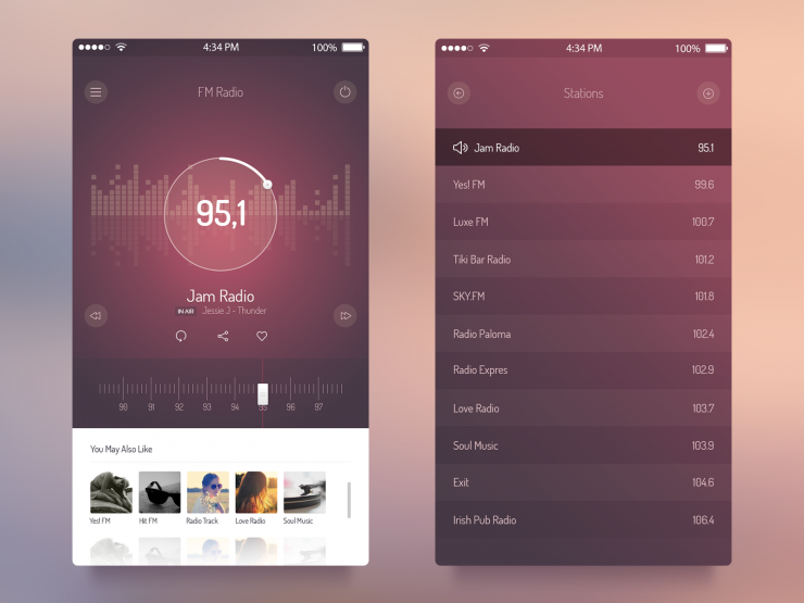 FM Radio UI iOS 7 App PSD Web Resources, Web Elements, Web Design Elements, Web, User Interface, unique, ui set, ui kit, UI elements, UI, Stylish, Resources, Radio, Quality, Player, pack, original, new, Music, Modern, Mobile App, Mobile, iPhone Application, iPhone App, Iphone, iOS7, iOS radio, iOS App, iOS 7 music player, iOS 7 music app, iOS, Interface, GUI Set, GUI kit, GUI, Graphical User Interface, Fresh, FM, flat ui, flat style, flat psd, Flat Design, flat app, Elements, detailed, Design Resources, Design Elements, Design, Creative, Clean, Application, Apple, App,