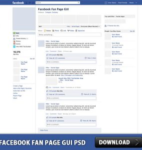 Facebook Fan Page GUI PSD Web Template Web Resources Template Social Network Social Media Social Psd Templates PSD Sources psd resources PSD images psd free download psd free PSD file psd download PSD Layered PSDs GUI Graphical User Interface Free PSD FB Fanpage Fan Page Facebook Template Facebook download psd download free psd