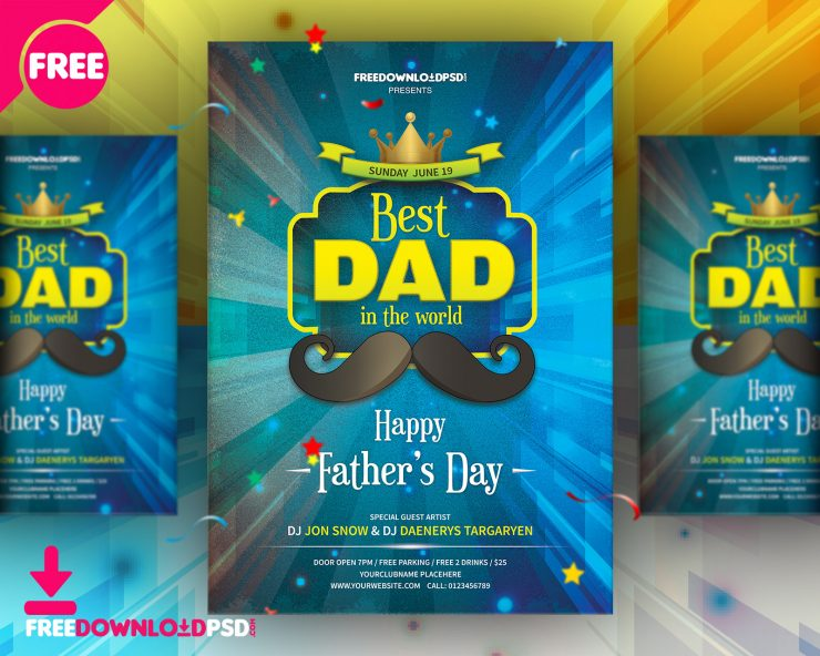 Fathers Day Flyer Template Free PSD Vintage, Typography, Templates, template design, Template, springs, Spring, Simple, savings, sales, Retro Style, Retro, psd flyer, PSD, Professional, prints, Print template, Print, premium flyer, Poster, party flyer template, party flyer psd, party flyer, Party, nostalgic, mustache, movember, Modern, Love, invitation card, invitation, Holiday, High Resolution, happy fathers day card, happy fathers day, Greetings, Fun, Fresh, Freebie, free psd flyer, Free PSD, free flyer template, free flyer psd, flyers, flyer template psd, flyer template, flyer psd, Flyer, Flat Design, festival, fathers day flyer template, fathers day flyer, fathers day card, fathers day background, fathers day, father day, father, family, Event, elegant, Drinks, downloadflyer, download free flyer, download flyer psd, Download Flyer, download flayers, Download, discounts, Design, dad, Card, best dad, Banner, Background, announcement, advertisement, a4, 4x6 Flyer,