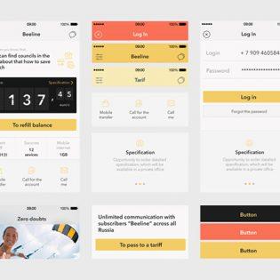 Finance Web UI Kit for Apps